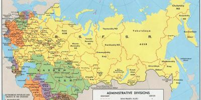 Map of the USSR